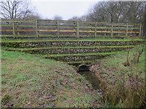 TQ1859 : Flow attenuation scheme, The Rye, Ashtead Common by Hugh Venables