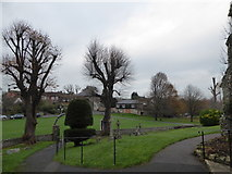 TQ5203 : St Andrew, Alfriston: churchyard (iv) by Basher Eyre