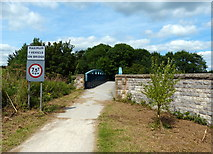 SK1751 : The Tissington Trail crossing the A515 by Mat Fascione
