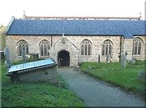 SW7340 : St Wenappa's Church, Gwennap by Humphrey Bolton