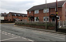 SJ5541 : Waymills houses, Whitchurch by Jaggery