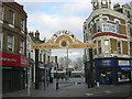 TQ4378 : Entrance to Woolwich Market by Christopher Hilton