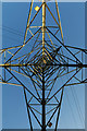 ST0368 : Electricity Pylon by Alan Hughes