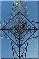 ST0368 : Electricity Pylon by Alan Hughes