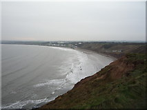 TA1281 : Filey Bay from Carr Naze by JThomas