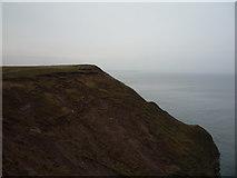 TA1281 : Eroding cliff, Carr Naze by JThomas
