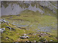 NN1872 : Watershed between Allt Daim and Allt Coire Giubhsachan by Shaun Ferguson