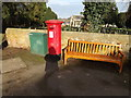 TL1713 : Old Rectory Gardens Postbox by Adrian Cable