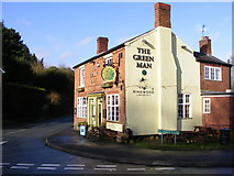 SO8690 : The Green Man  by Gordon Griffiths