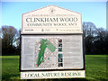 SJ5198 : Clinkham Wood Information Board by David Dixon