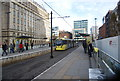 SJ8397 : St Peter's Square Metrolink Station by N Chadwick