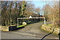 SH7119 : Car Park at Llanelltyd Bridge by Jeff Buck