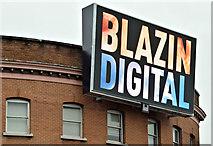 J3373 : Digital advertisement, Shaftesbury Square, Belfast - January 2016(1) by Albert Bridge