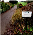 ST4689 : Dewstow Golf Club and Range notice by Jaggery