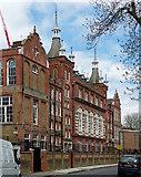 TQ3176 : Charles Edward Brooke School, Cormont Road by Stephen Richards