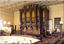 TQ2982 : St Pancras, Euston Road - Organ by John Salmon