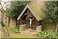 TQ3689 : St Michael & All Angels, Palmerston Road - Calvary by John Salmon