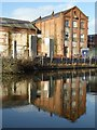 SO8554 : Former factory building by Philip Halling