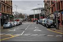 NS5566 : Merkland Street from Dumbarton Road, Partick by Garry Cornes