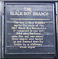 NZ2326 : Plaque on old coal wagon, Shildon by JThomas