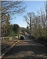 TL3960 : Madingley: Cambridge Road in winter by John Sutton
