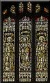 SK7654 : Stained glass window, St Michael's church, Averham by Julian P Guffogg