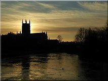 SO8454 : Worcester sunrise by Philip Halling