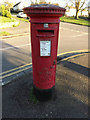 TL1415 : Noke Shot George VI Postbox by Adrian Cable