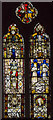 SK7654 : Medieval stained glass, St Michael's church, Averham by Julian P Guffogg