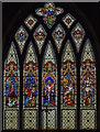 SK7654 : East window, St Michael's church, Averham by Julian P Guffogg
