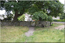 SK1971 : Kissing gate, Little Longstone by N Chadwick