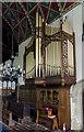 SK7654 : Organ, St Michael's church, Averham by Julian P Guffogg
