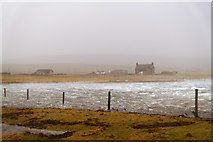 HP6308 : High tide at Ordaal House, Baltasound by Mike Pennington