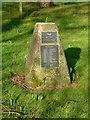 SK8616 : Memorial sundial, Teigh by Alan Murray-Rust