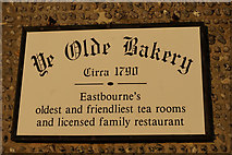 TV6199 : Ye Olde Bakery by Ian S