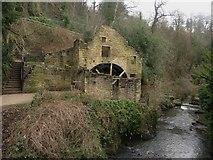 NZ2567 : Old Mill in Jesmond Dene by Graham Robson