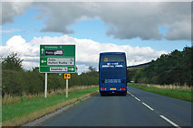 NZ4602 : Road sign on A172 by Robin Webster