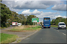 NZ5107 : Layby on A172 by Robin Webster