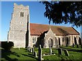 TL9513 : The Church of St. Mary the Virgin, Salcott-cum-Virley, Essex by Derek Voller