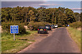 NU1336 : Parking, Ross by Ian Capper