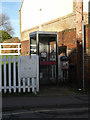 TM3863 : Telephone Box on Station Approach by Adrian Cable