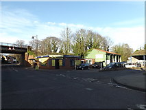 TM3863 : Saxmundham Hand Car Wash by Adrian Cable