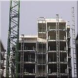 NT2572 : Flats construction, Quartermile by Richard Webb