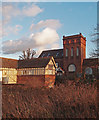 TQ3692 : Chingford Mill Pumping Station and Turbine House by Julian Osley