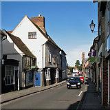TL3540 : Royston: in Kneesworth Street by John Sutton