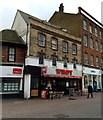 TQ5474 : Wimpy, High Street, Dartford by Chris Whippet