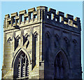 TA0853 : North Frodingham Church Tower by Andy Beecroft