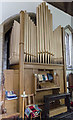 TF1134 : Organ, St Andrew's church, Billingborough by Julian P Guffogg