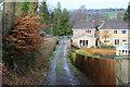 ST1898 : Track down from Llys-pentwyn-uchaf, Oakdale by M J Roscoe