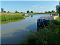 SJ6871 : Narrowboats moored along the Trent & Mersey Canal by Mat Fascione